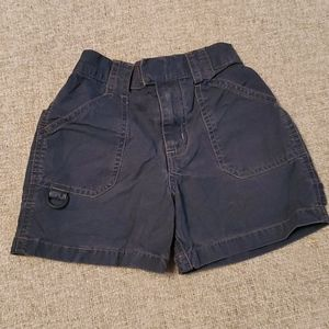 OshKosh B'gosh Bottoms - Genuine kids Gray 2T shorts w/ velcro & zipper